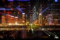 Abstract - Hong Kong - Skyline