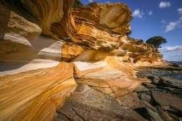 Australia - Tasmania - Maria Island - Painted Cliffs