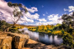 Australia - Tasmania - New Norfolk - The River