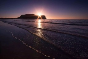 Australia - Tasmania - Stanley - The Nut at Sunrise