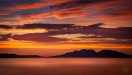 Australia - Tasmania - Sunrise - Freycinet National Park