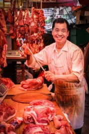 Street Photography - Hong Kong - The Butcher