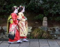Street Photography - Japan - Nice Dresses in Kyoto 02
