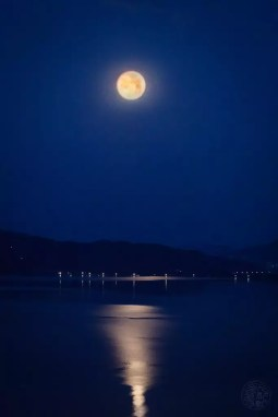 Japan - Kyoto - Amanohashidate - Full Moon