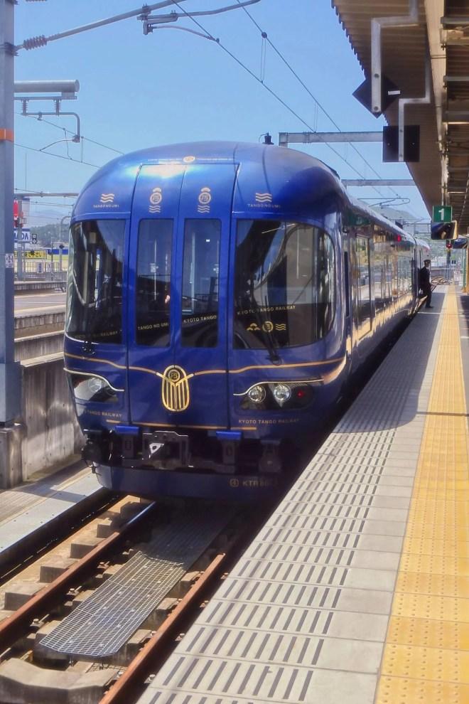 Japan - Kyoto - Amanohashidate - Anreise - Tango Railway