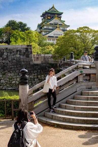 Japan (2018) - Osaka - Ōsaka-jō - Die Burg