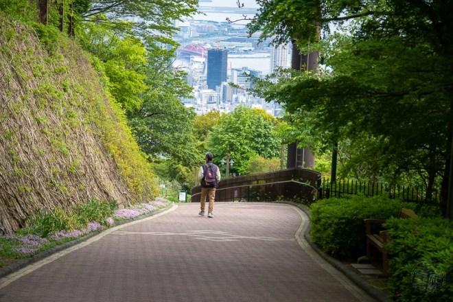 Japan (2018) - Kobe - Shin-Kobe Seilbahn und Nunobiki Kräutergarten