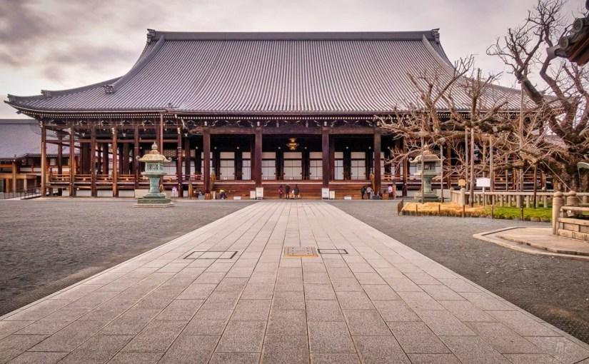 Japan (2020) – Kyoto – Nishi Honganji Tempel (Ryukokuzan)