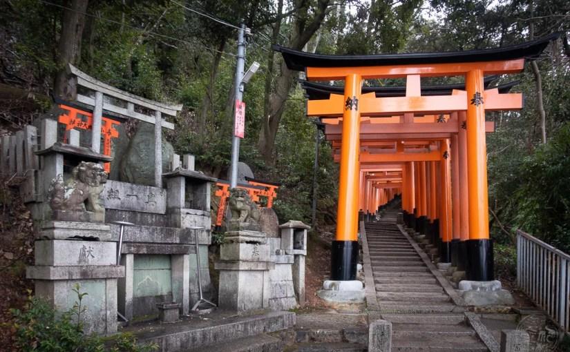Japan (2020) – Kyoto – Fushimi Inari-Taisha Schrein – Der Aufstieg