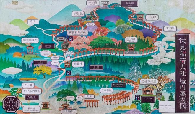 Japan (2020) - 070a Kyoto Fushimi Inari-Taisha (Nacht)