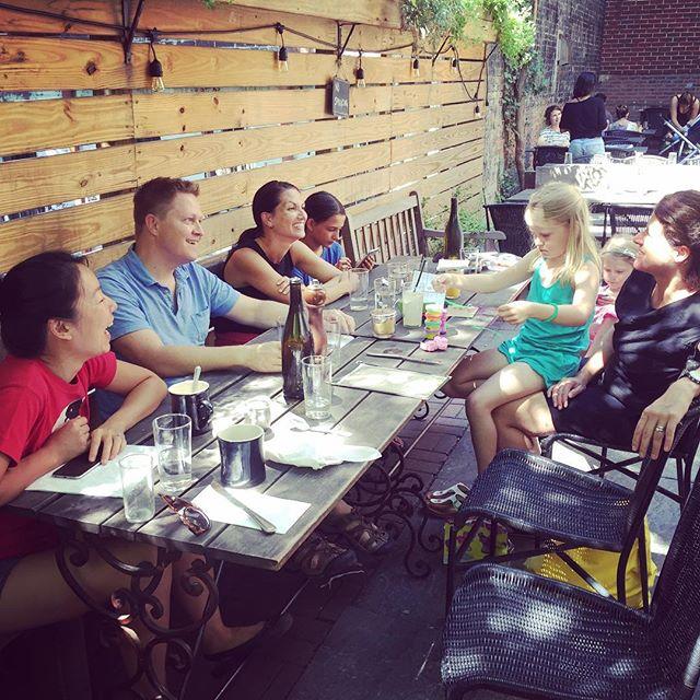 Breakfast with friends