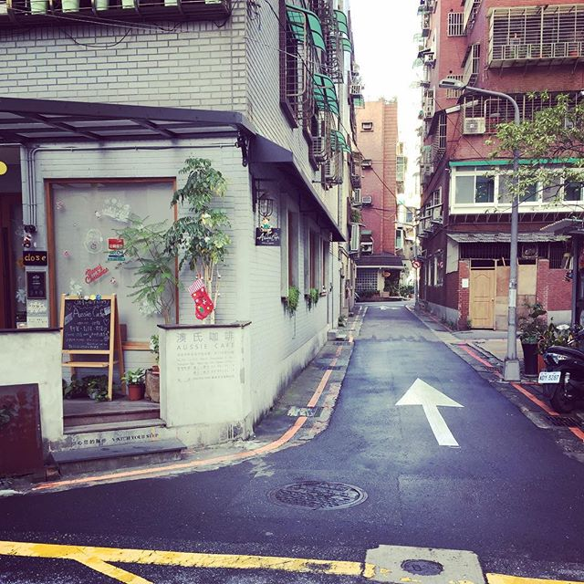 Small alleys of #Taipei