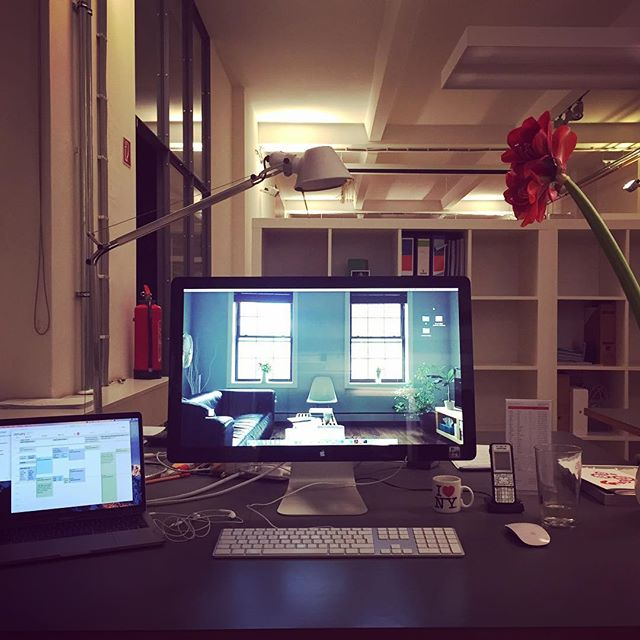 Office love ️ #fuenfwerken #berlin #leavingflatbush
