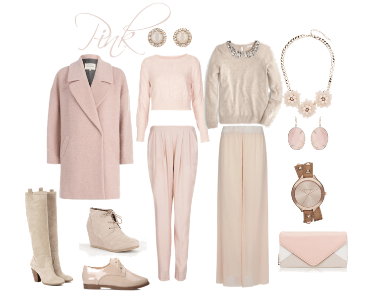 Winter Pink Pastels