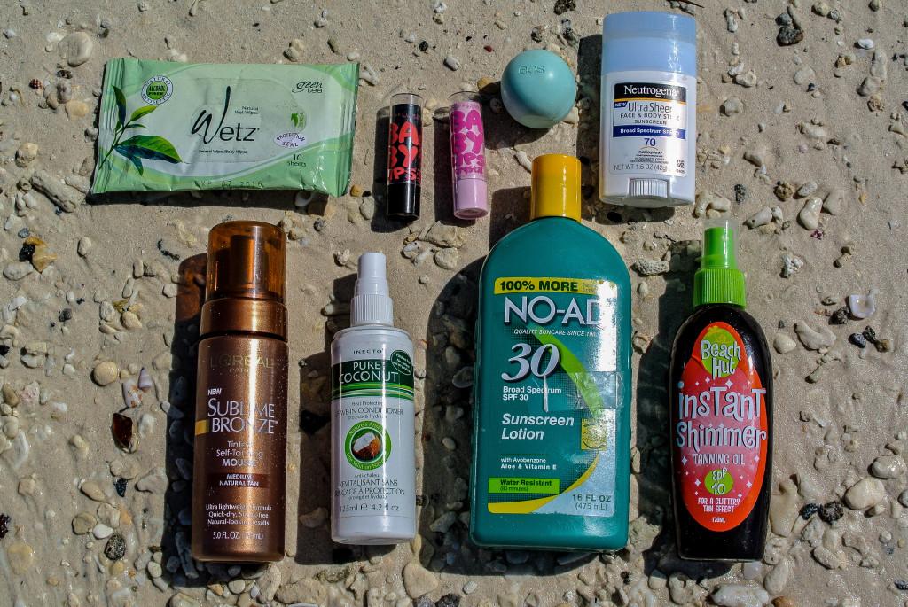 Inside My Beach Bag