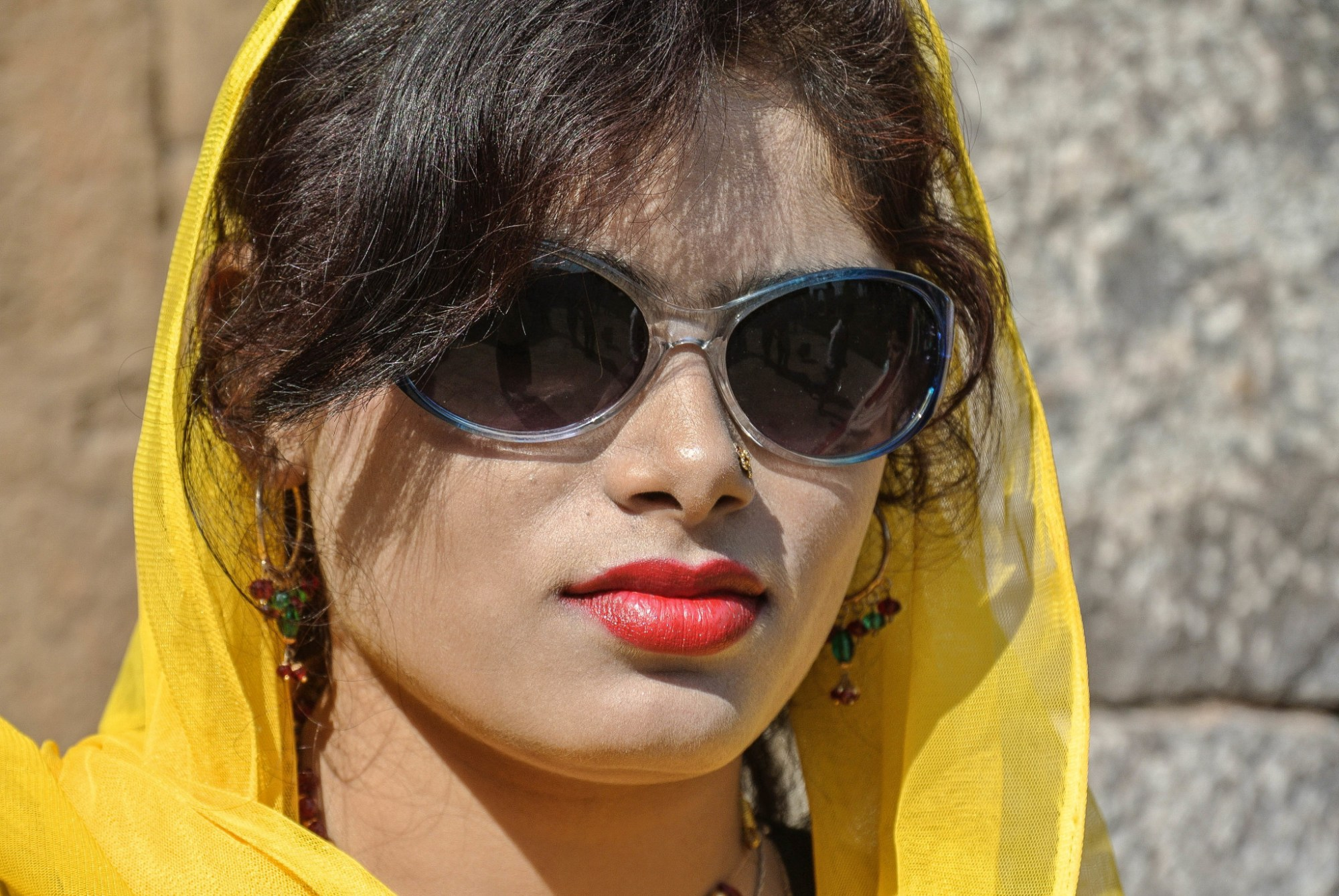 Fashionable Indian Lady
