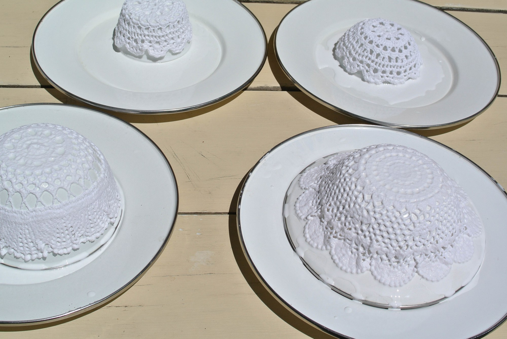 Doily Bowl DIY 7