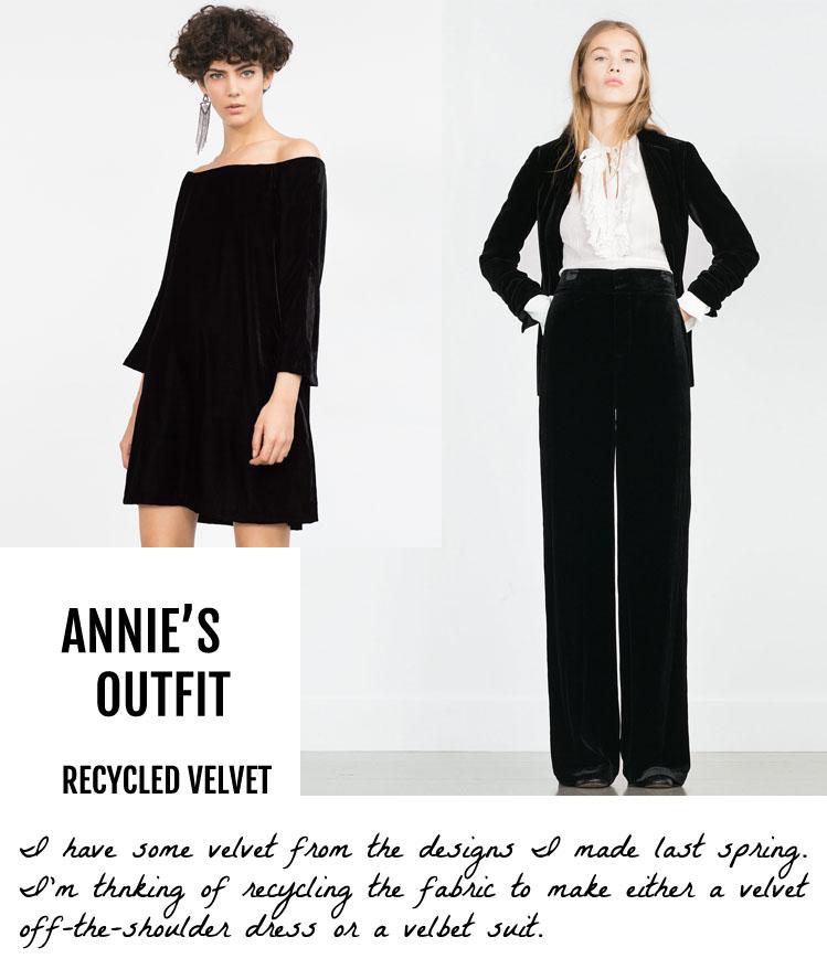 Annie's Zara Outfit