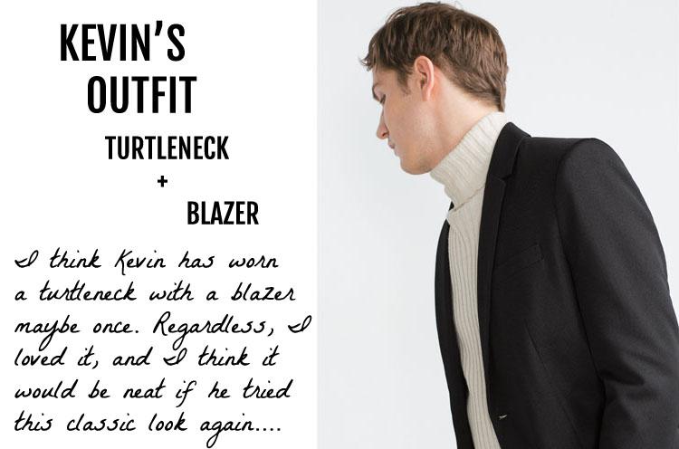 Kevin's Zara Outifit