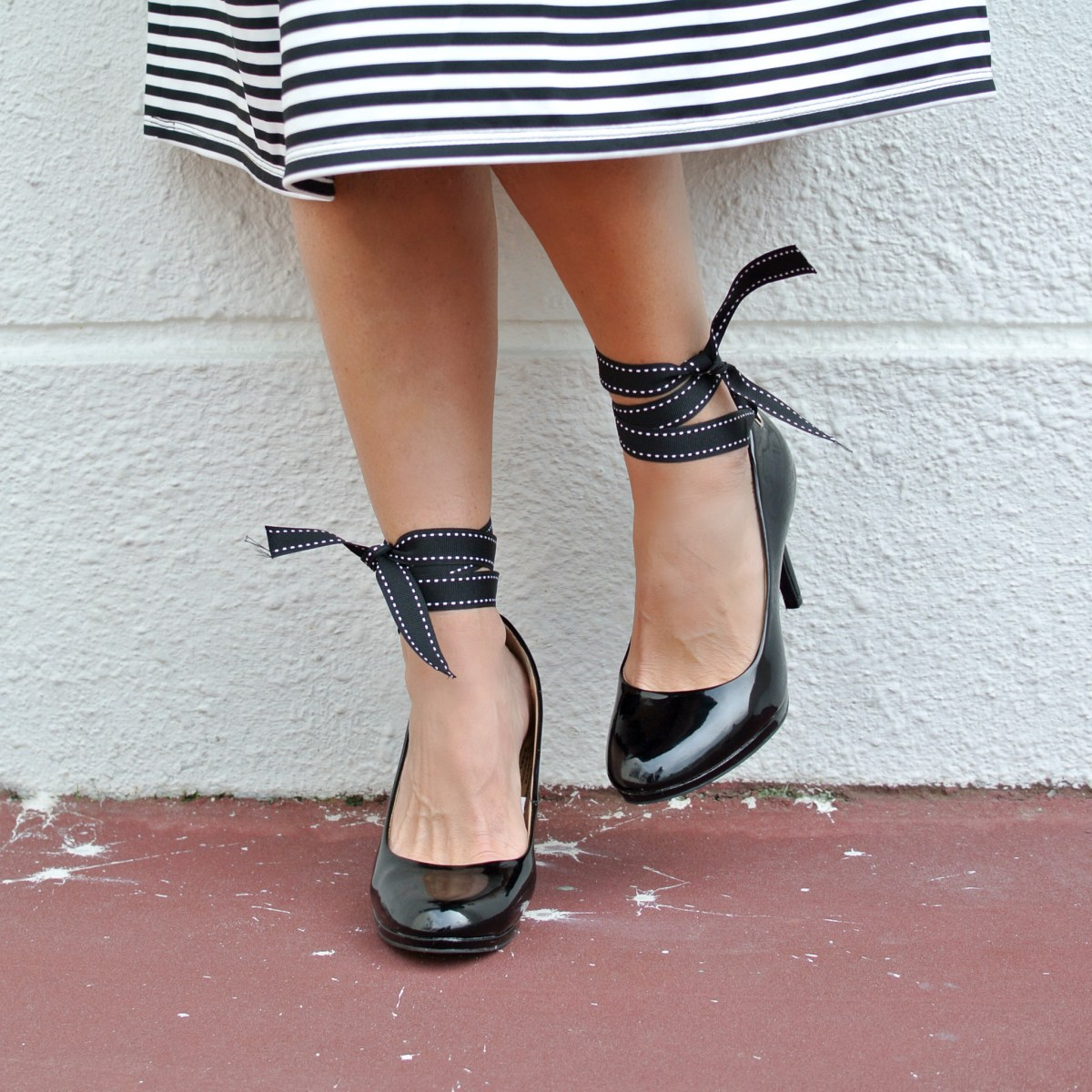 DIY: Miu Miu Ribbon Heels