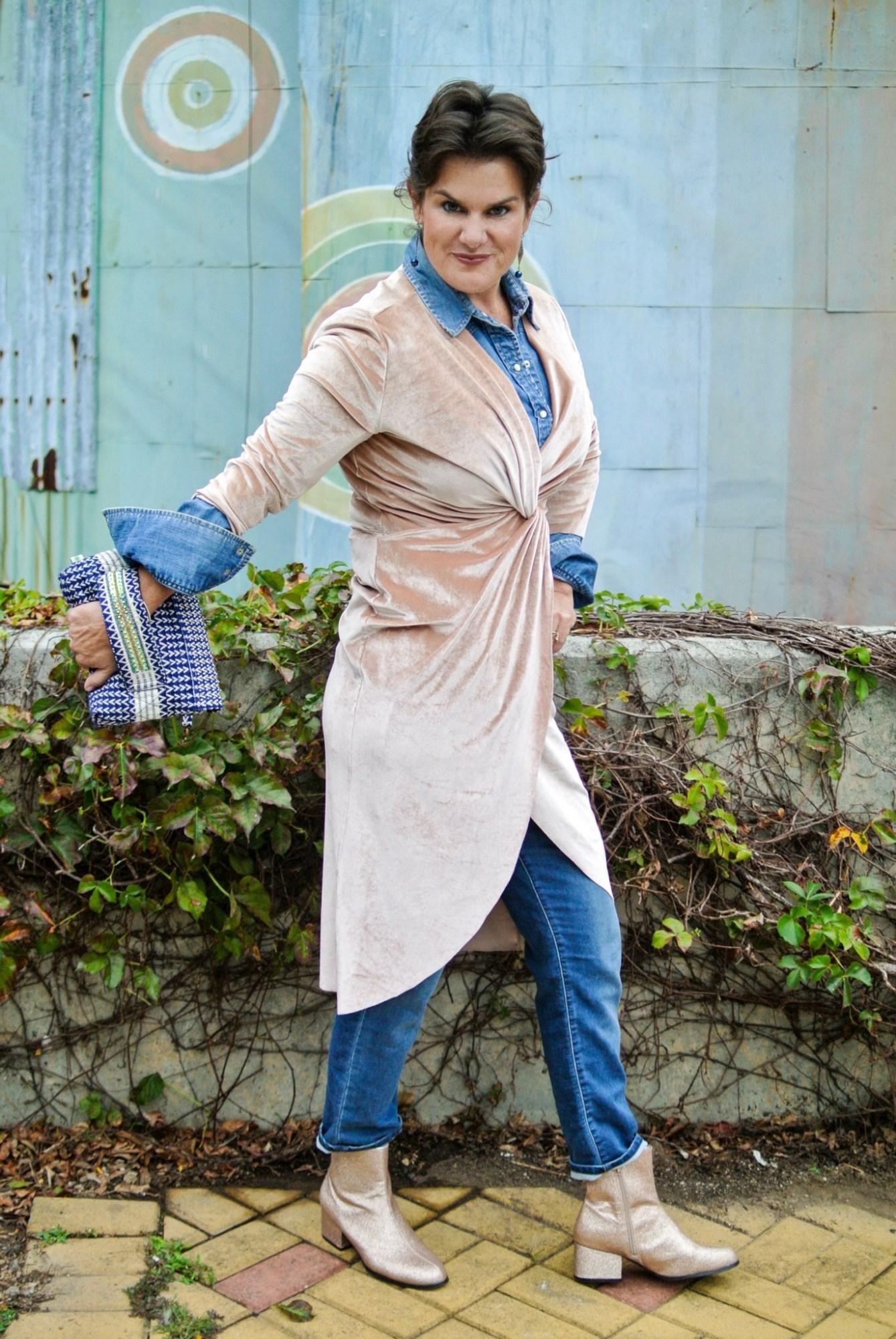 Velvet Blush Dress 4