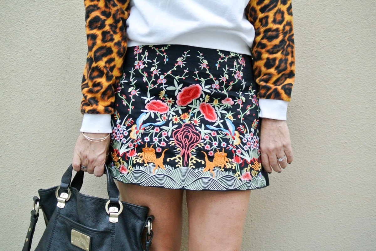 Pair Bold with Bold--Leopard Print, Day 4