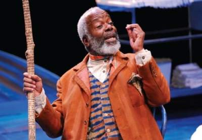 Joseph Marcell in the 'Gem of The Ocean' at Arena Stage in Washington DC.