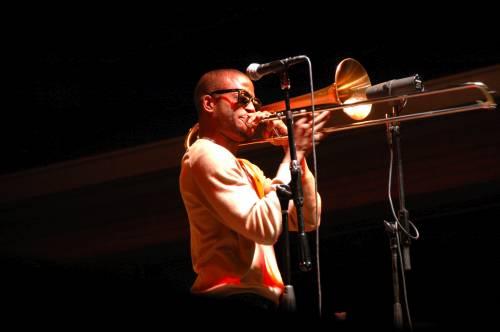 Trombone Shorty at Festival International de Louisiane