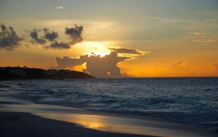 A stunning Anguilla sunset