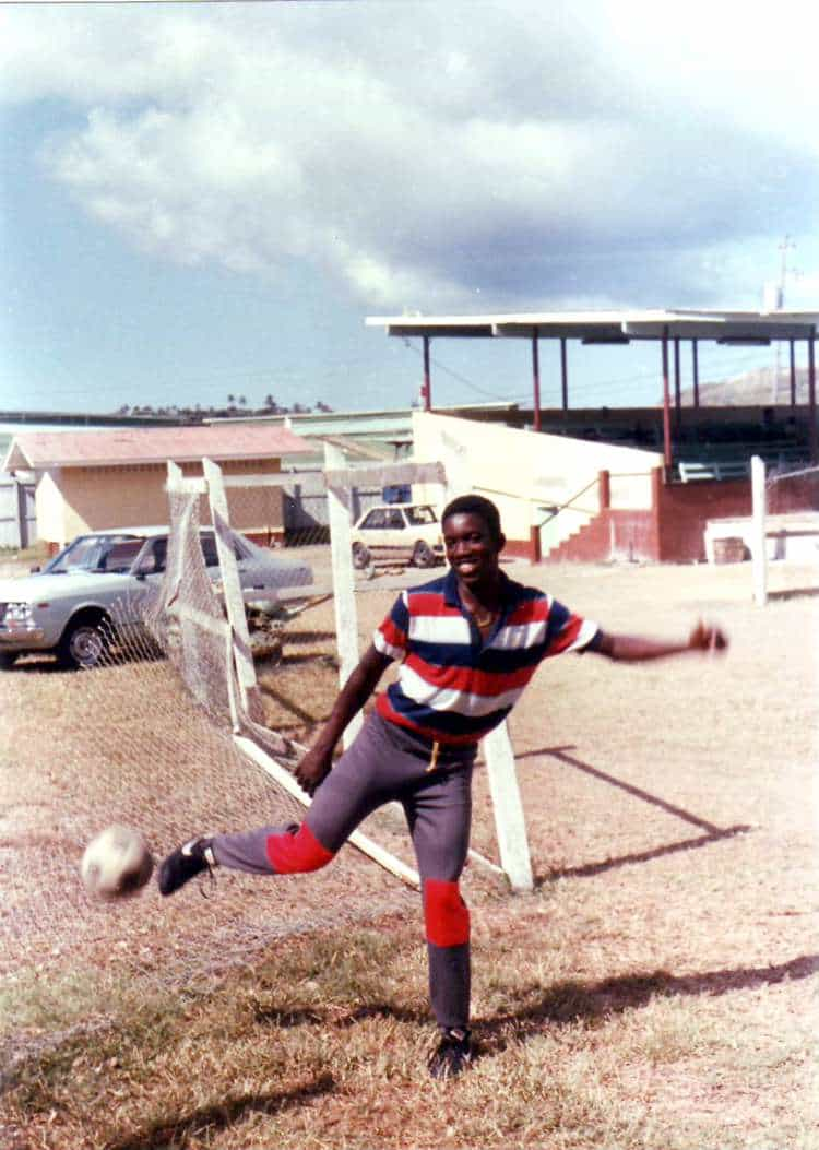 Young Dwight in Tobago