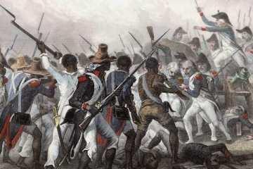Battle of Vertieres in 1803.