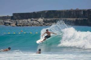 Surf à La Réunion