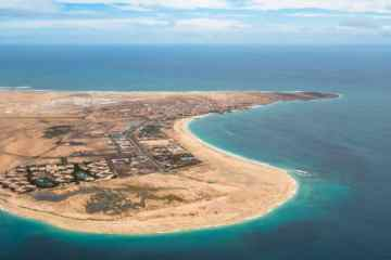 Santa Maria in Sal Island