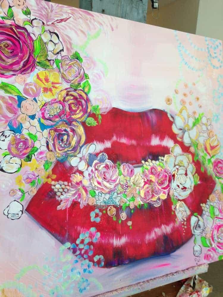 Olesya Ianovitch - Painting Happiness