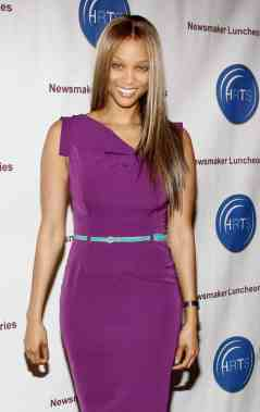 """Tyra Banks at the HRTS' """"Broadcasting Reality: Show Me the Money!"""" Newsmaker Luncheon"""