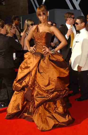 Tyra Banks on the red carpet
