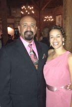 Wilbert Sr. and my daughter Kara Richard