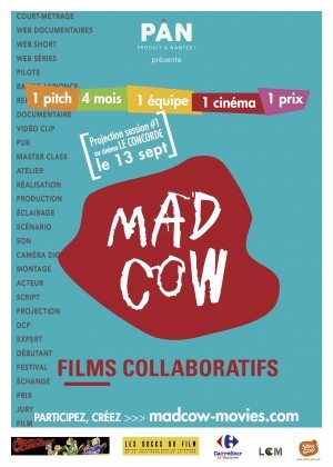 affiche mad cow