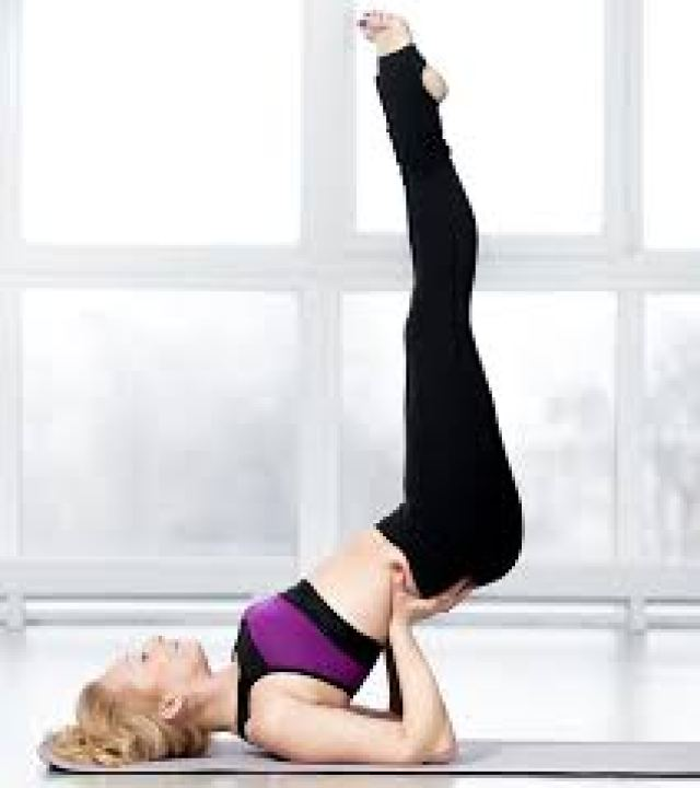 Yoga For Thyroid - Viparita Karani - This pose increases circulation in the entire body. It releases stress and tension from the body, resulting in a calm mind.
