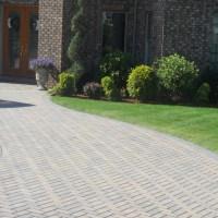 Kresge Brick Paver Driveway