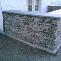 Fieldstone Veneer Wall