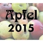 Etikett Apfel-Gelee 2015