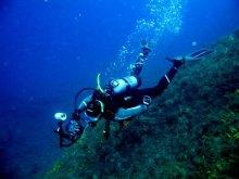 Duiken Padi op Kreta Griekandland