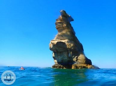 Agios Pavlos snorkelen wandelen geologische tour