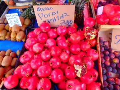 Markt groenten en fruit Heraklion