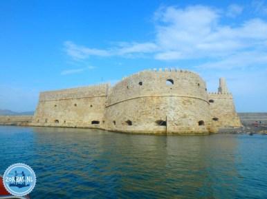 Fort van Heraklion zeilvakantie Griekenland