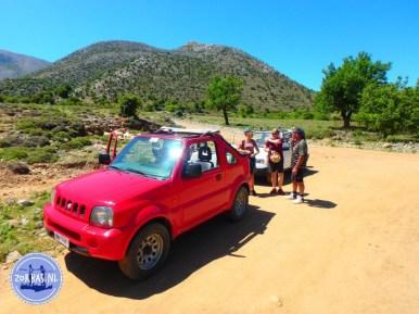 Kreta offroad met de jeep