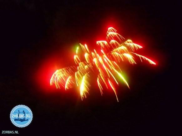 Vuurwerk in Griekenland kerstvakantie 2022