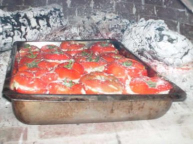 Grieks koken gevulde groenten