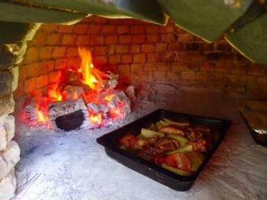 Koken in authentieke oven Kreta